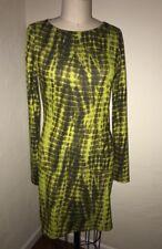 NWT Topshop TIEDYE Print Stretch Long Sleeve Dress US 10 Large/EUR 42/UK 14