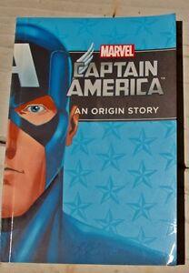 Marvel  Captain America: An Origin Story by Scott Peterson