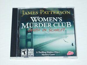 James Patterson Womens Murder Club Death In Scarlet PC MAC CD hidden find game