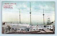 Venice, CA   EARLY 1900s SHIP CAFE AMUSEMENT ADVERTISING POSTCARD