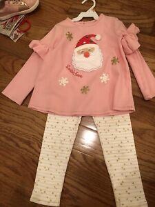 Mud Pie Santa Outfit 5t