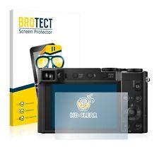 2x BROTECT Screen Protector for Panasonic Lumix DMC-TZ100EB Protection Film