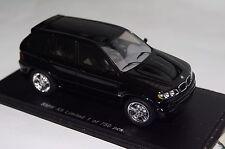 BMW x5 Noir 1:43 spark NEUF & OVP