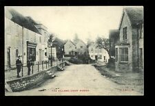 Somerset CHEW MAGNA The Village and local children early PPC