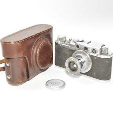 FED CAMERA mit OBJEKTIV LENS FED 1:3,5 F=50mm made in USSR Reflex Kamera