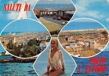 Cartolina Porto S. Elpidio vedute Pin Up