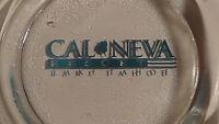 ASHTRAY CAL - NEVA    RARE VARIATION - ODD COLOR  LAKE TAHOE NV CASINO glass