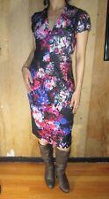 Betsey Johnson Womens Size 6 Floral-Printed Sheath Dress (B)