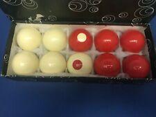 Antique Vintage Bumper Pool Ball Billiards set