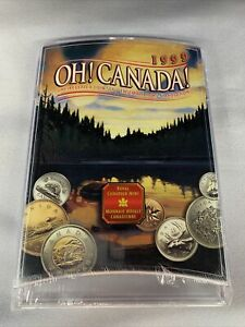 Factory Sealed Oh Canada Uncirculated Coin Set 1999 B1118