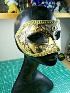 Genuine Italian Venetian face Mask, Made in Italy. Superb!