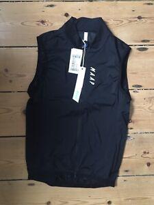 MAAP Draft Team Vest Gilet Black Medium New!