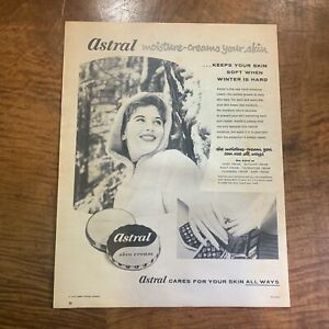 VINTAGE 1950's 'ASTRAL' SKIN CREAM BABY BEAUTY HEALTH MAGAZINE ADVERTISEMENT #2