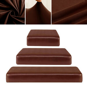 1-3 Seater Sofa Seat Covers Couch Slipcover Cushion Elastic PU Couch Protector