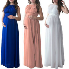 Maternity Pregnant Women Long Maxi Dress Cocktail Wedding Formal Party Dresses