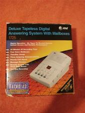 AT&T #1725 Deluxe Tapeless Digital Answering System With Mailboxes