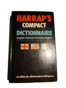HARRAP'S COMPACT - DICTIONNAIRE ANGLAIS-FRANCAIS / FRANCAIS-ANGLAIS