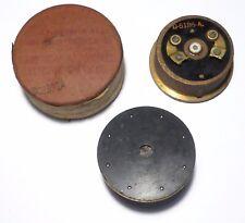 Ecouteur D5186-A haute impédance pour combiné radio mil US pre-war II Rare