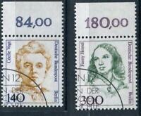 Berlin Frauen 848 OR & 849 OR, Oberrand gestempelt #a265