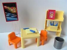 Playmobil Dollshouse/escuela Muebles: Dibujo & Pintura de la esquina nuevo