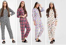 Ladies Lovely Designs Soft Fleece Full Set Pyjama Nightwear Bed+Eye wear