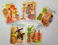 Malaysia Multiculture Festivals III 2019 Celebration Limited Stamps
