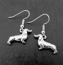Dog Earrings Silver ,Animal Earrings,Silver Earring, Earrings Jewelry,Funky pet