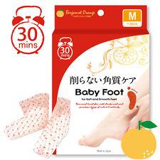 [BABY FOOT] Japan Easy Pack Deep Skin Exfoliation Foot Mask Orange Scent M 26cm