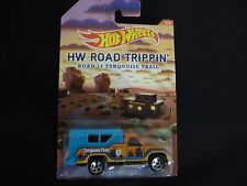 Hot Wheels Backwood Bomb Road Trippin Route 14 Torquoise Trial 1/64