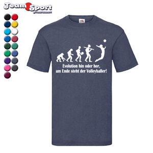 Evolution Volleyball Aufwärmshirt in 17 Farben / Training Schule Volleyball