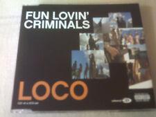 THE FUN LOVIN' CRIMINALS - LOCO - UK CD SINGLE