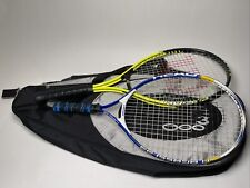 Tennis Racquets With Prime 3000 Racquet Bag.Head Ti.Agassi 23, Fusion Soft Shock