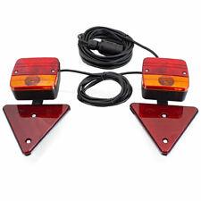 BITUXX PKW Anhänger Rückleuchten Rückstrahler Beleuchtungs Set 7 polig Magnet