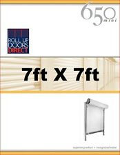 Roll Up Doors Direct Janus Model 650 7ft W x 7ft H