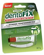 => DENTAFIX 7 g LOOSE CAPS REPAIR, STRONG TEMPORARY FIX