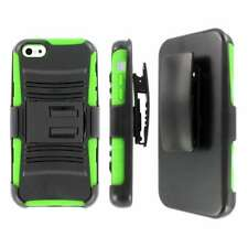 MPERO IMPACT XT Series Kickstand Case Belt Holster for Apple iPhone 5C - Green