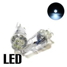 Fits Nissan Juke F15 1.5 White 4-LED Xenon ICE Side Light 'HID' Parking Bulbs