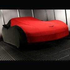 05-13 Corvette Car Cover- Outdoor- Black & Red- Custom- GM Brand New # 19158378