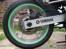 Verde 8mm Fluorescente Dayglo Moto / Coche Llanta Vinilo Rayas/Cintas