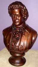 """18"""" Large Bust of Mozart Music Sculpture Statue Art"""
