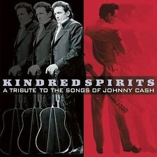 """""""KINDRED SPIRITS - A TRIBUTE TO THE SONGS OF JOHNNY CASH"""" - LUCKY DOG CD (2002)"""