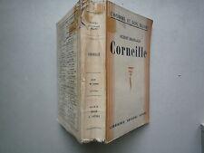 1941 CORNEILLE ROBERT BRASILLACH CHEZ ARTHEME FAYARD L'HOMME ET SON OEUVRE