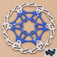 Snail MTB Bicycle Bike Brake Rotor Floating Disc 160/180/203mm For SHIMANO SRAM
