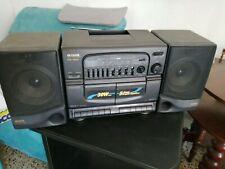 STEREO PORTATILE AIWA CA-W51 HI-FI RADIO 2 MANGIACASSETTE