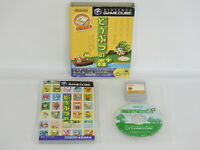 DOBUTSU NO MORI Plus Animal Forest with Memory Game Cube Nintendo Japan gc