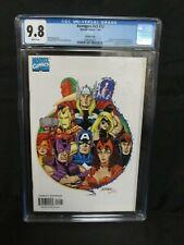 Avengers v3, #12 (1999) (#427) Rare George Perez Variant Cover CGC 9.8 A065