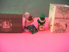 """Department 56 Snowbabies Wizard of Oz""""No place like home , toto"""" +mini figure"""
