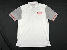 Riddell Polo Shirt Men's White New Large