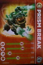 Prism Break Skylander Giants Stat Card Only!