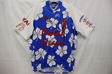 PACTIMO Petal Heads,Memoriam,MS 150 Bike Tour,Hawaiian Print Cycle Shirt, XL-B11